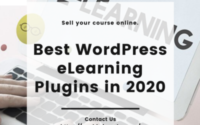 Which are the best e-Learning plugins in 2020