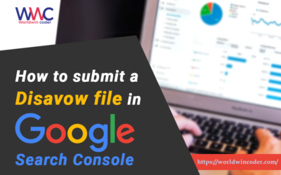 How to Submit The Disavow file in Google Search Console